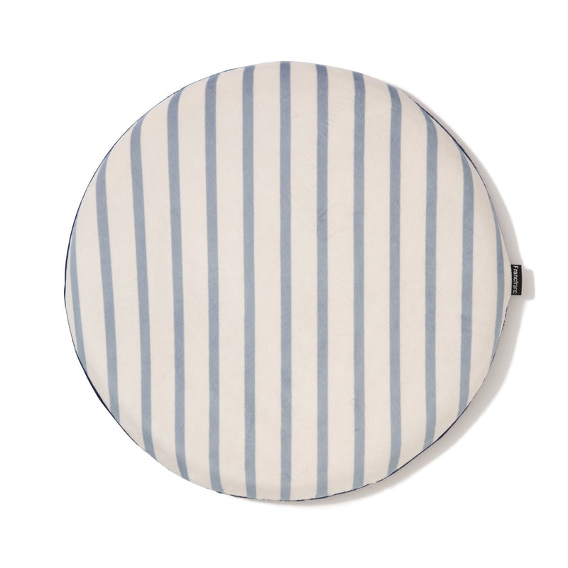 PRU STRIPE SEAT CUSHION BL