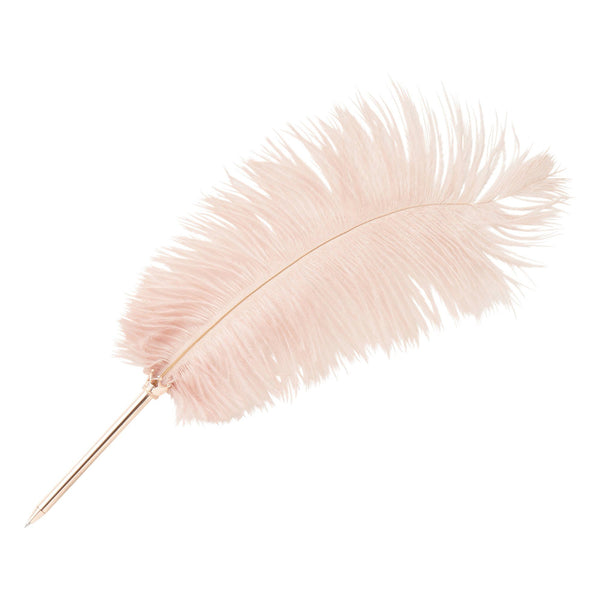 BIG Feather Pen Pink