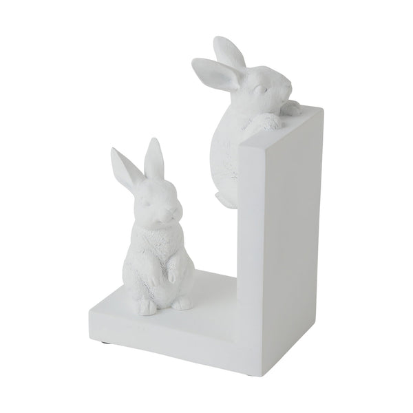 MIGNON Bookend Rabbit White