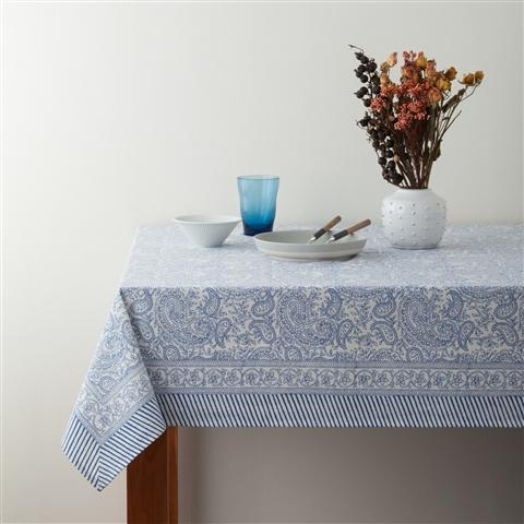KARUKA Table Cloth Blue