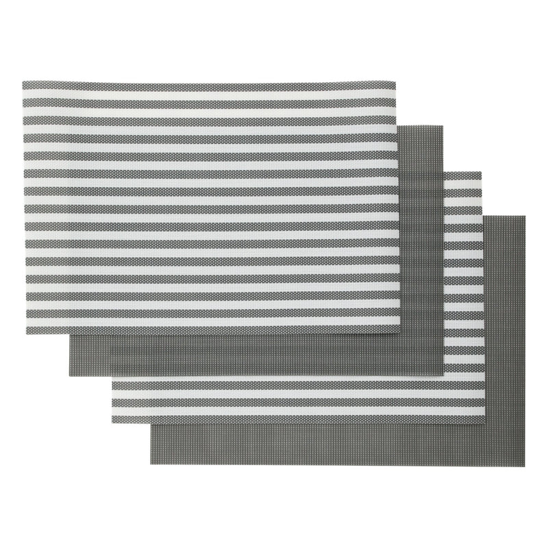 QUATRE Lunch MAT 4P Set Gray
