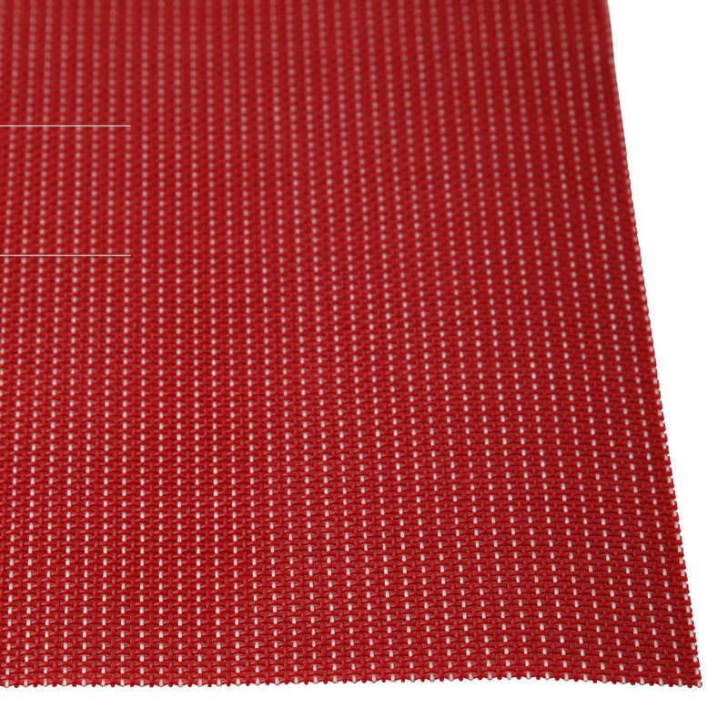 QUATRE LUNCH MAT 4P SET RED