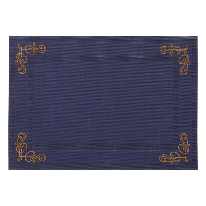KURVE LUNCHMAT 48X34 NAVY