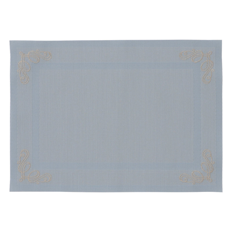 KURVE LUNCH MAT LIGHT BLUE