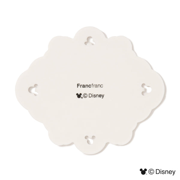 DSY ORNAMENT COASTER WH