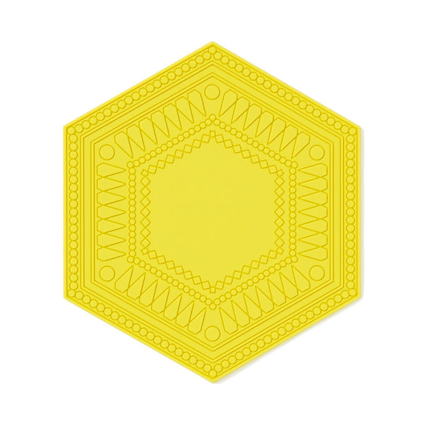 HEXAGON GEOMETRIC COASTER YE