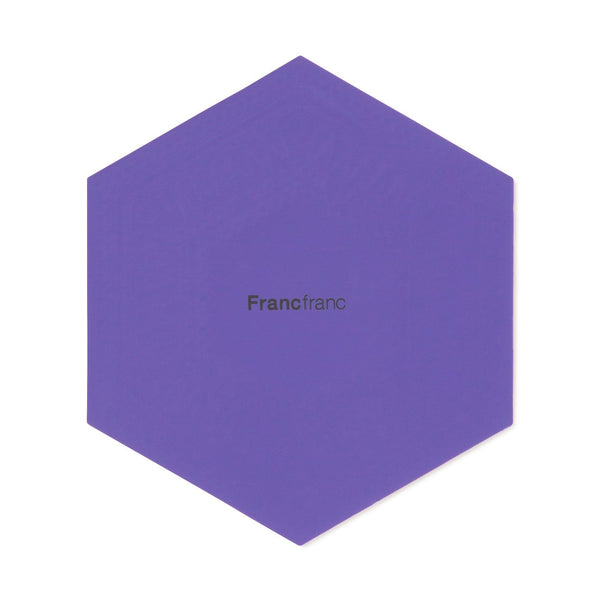 HEXAGON GEOMETRIC COASTER BL