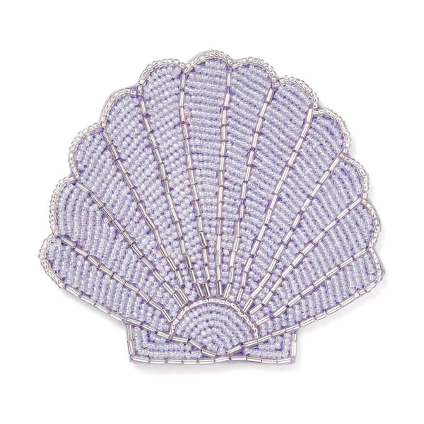 SHELL COASTER Purple