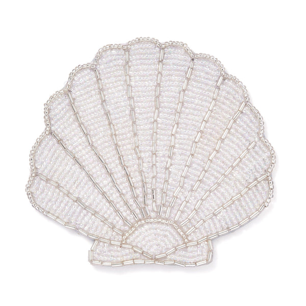 SHELL COASTER White