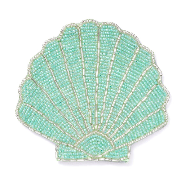 SHELL COASTER Green