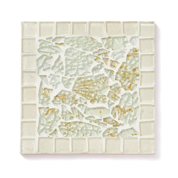 AUREOLE COASTER SQUARE 3 White