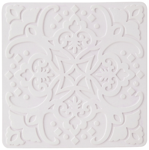 DIATOMACEOUS Coaster White