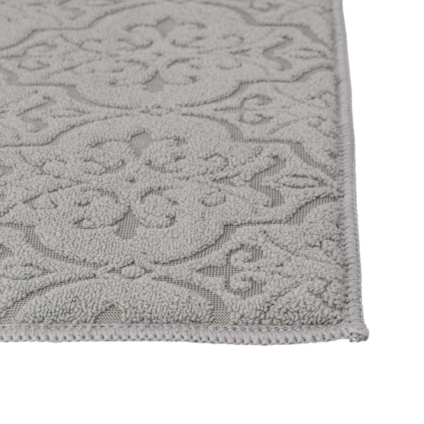 ORNAMENTJACQUARD DRYINGMAT GRAY