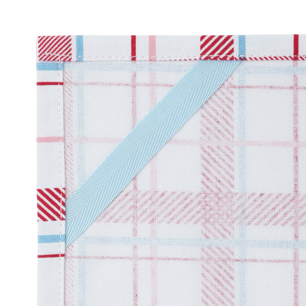 MULTI Cloth Check Red