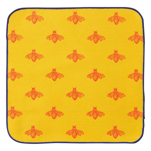BEE Triangle Dish Cloth 2P Set Yellow