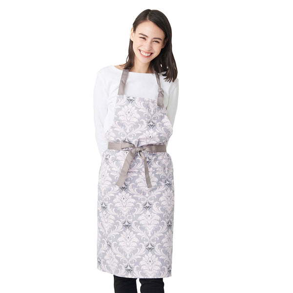 RAMAGES FULL APRON GRAY