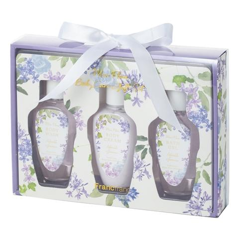 MISS FLORA Body Care Gift Set Purple