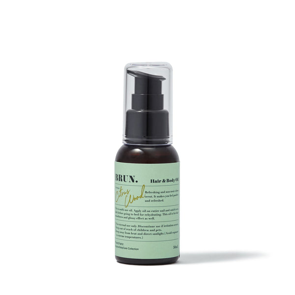 BRUN HAIR&BODY OIL Green