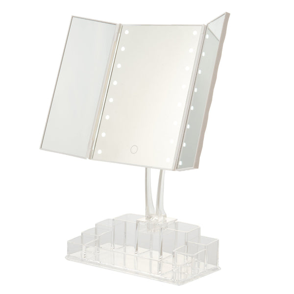 LAMILA LED TRIPLE MIRROR White