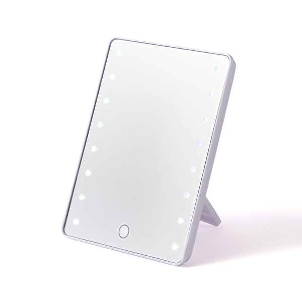 LUCIO BRIGHTNING MIRROR SMALL WHITE
