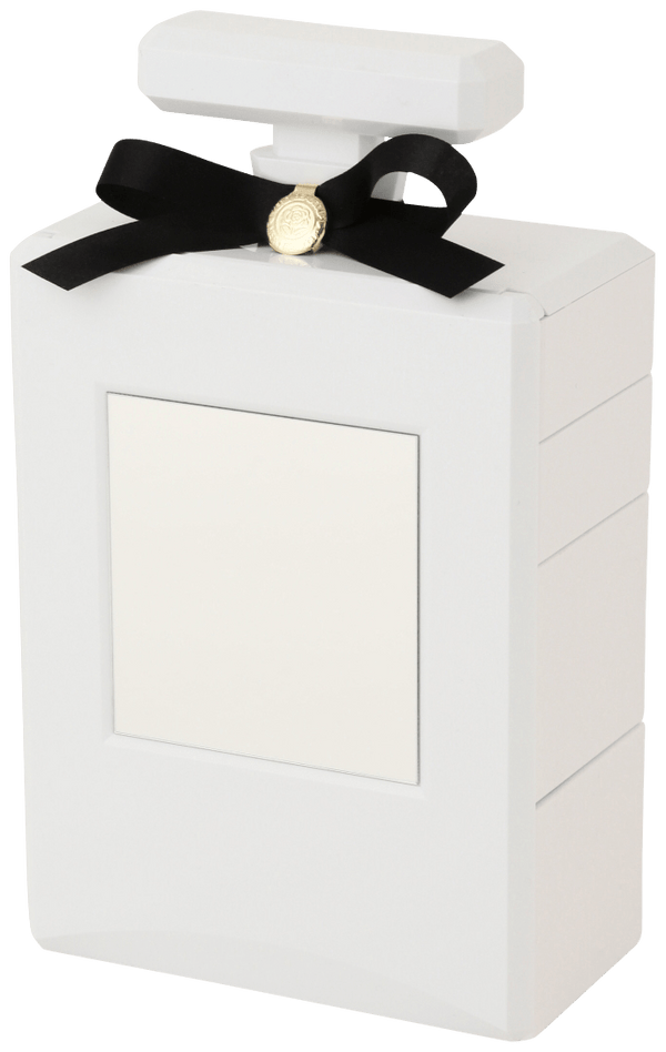 PERFUME Jewelry Box Coffret   White
