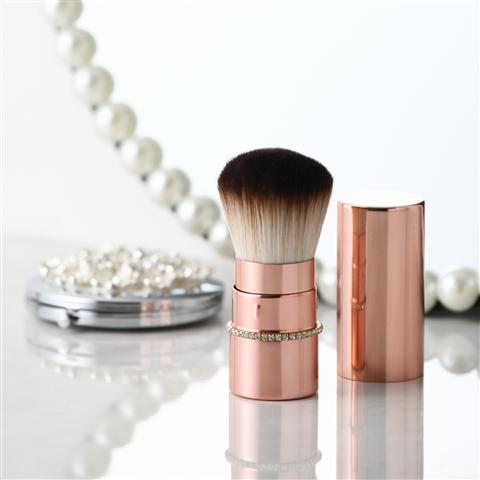 TIARA BRUSH SMALL ROSE GOLD