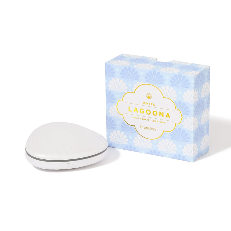 LAGOONA LED COMPACT MIRROR WH