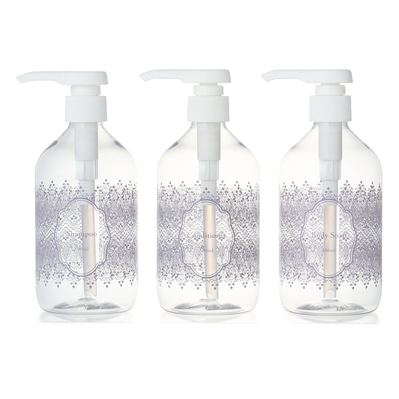 3PCS DISPENSER SET Clear