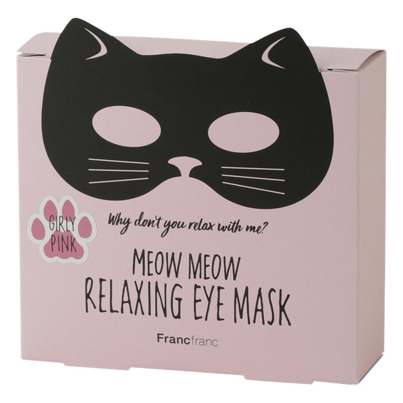 MEOWMEOW RELAXING EYE MASK PINK