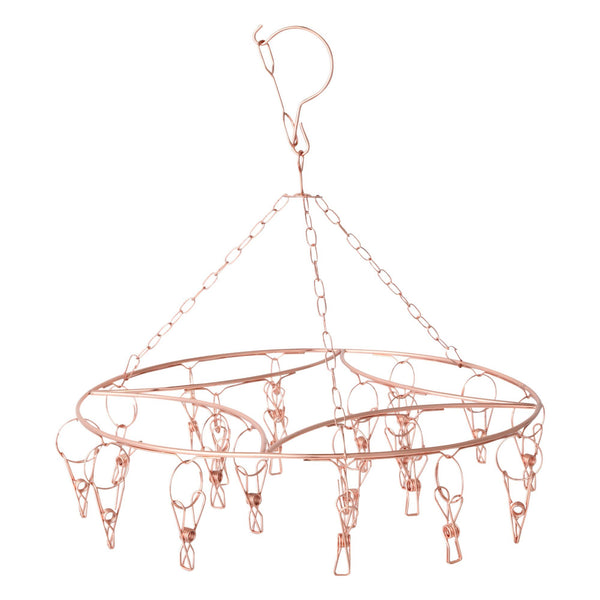 OR ROSE Pinch Hanger Round Pink Gold
