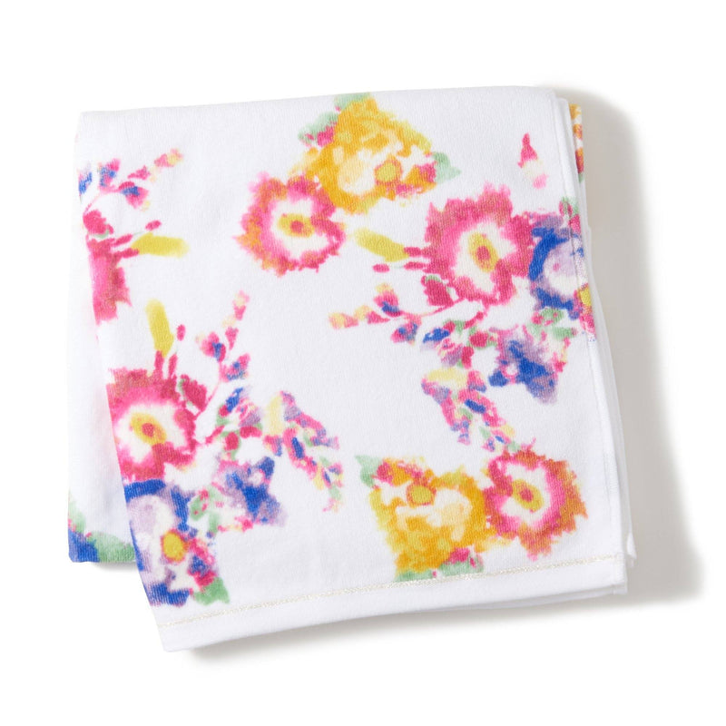 FLOR BATH TOWEL WH