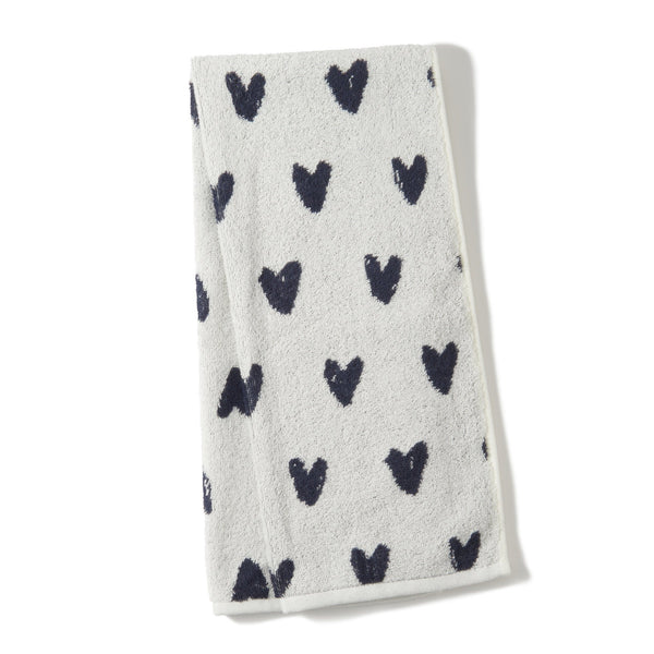 20SS VALE FACE TOWEL HEART WH