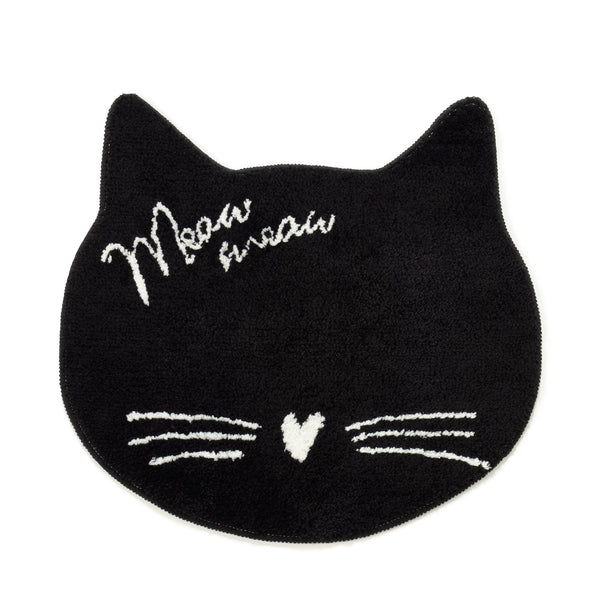 CAT FACE MULTI MAT BLACK