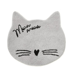 CAT FACE MULTI MAT GY