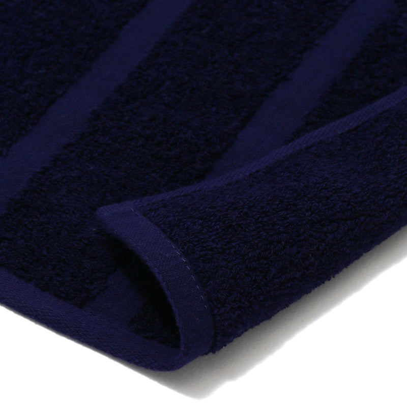 20SUMMER VALE FACE TOWEL Border Navy