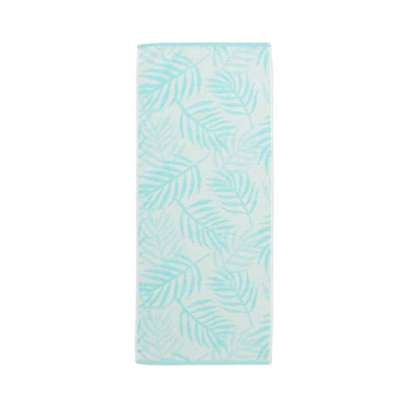 20SUMMER VALE FACE TOWEL Palm Tree Green