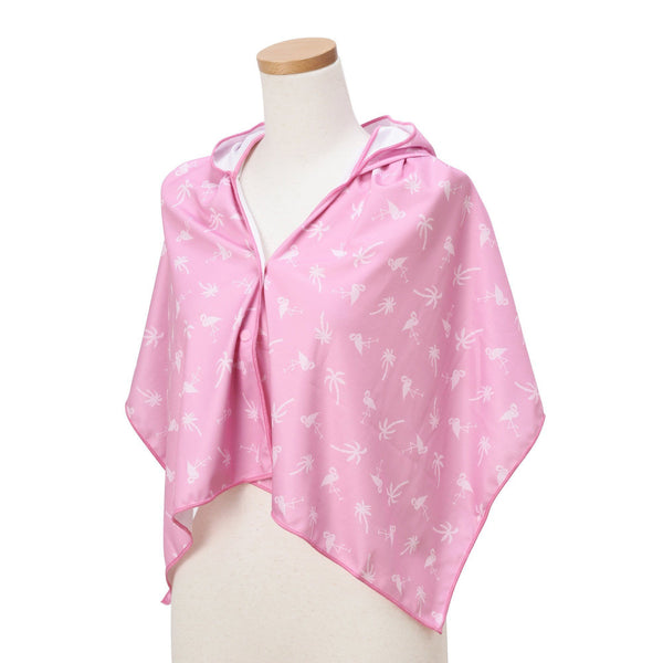 HOODY COOL TOWEL FLAMINGO PK