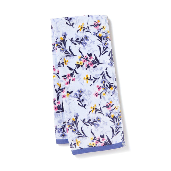FLORALIES FAcE TOWEL Blue