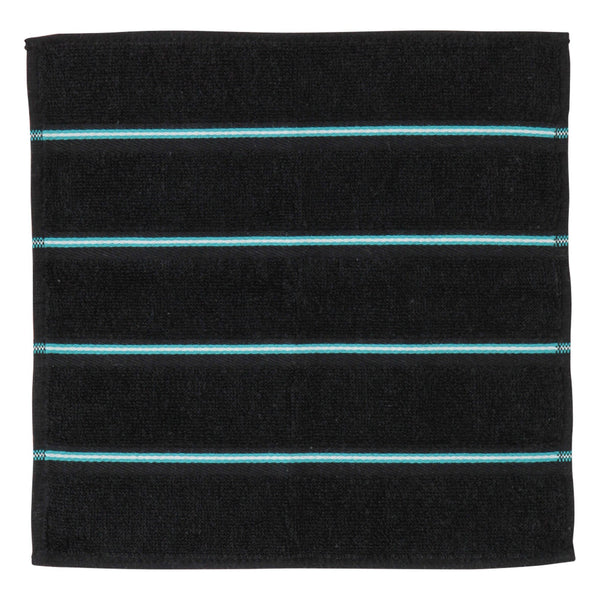 BALLOT HANDKERCHIEF  CLUB BORDER BLACK