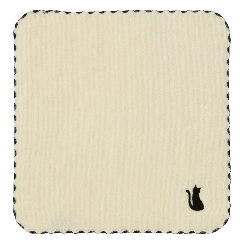 BALLOT HANDKERCHIEF CAT WHITE