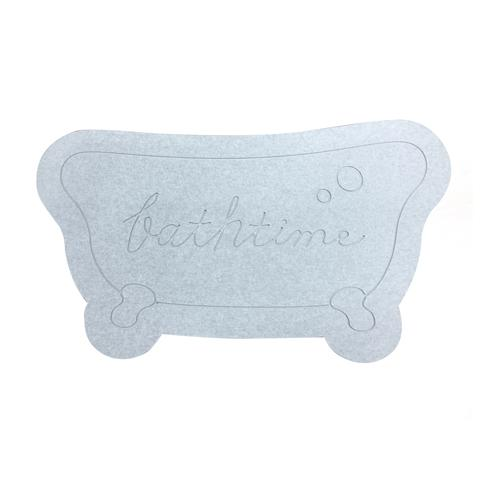 DIATOM EARTH BATH MAT BT GRAY