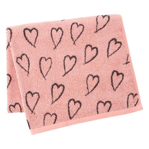 SUMMER VALE Bath Towel 2P SET Pink