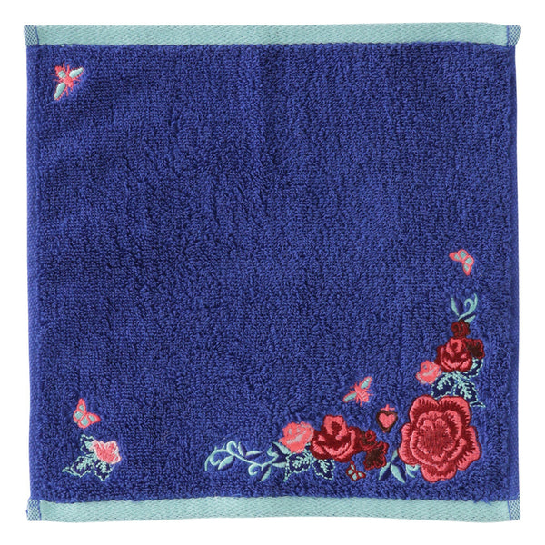 EMBROIDERY Handkerchief Blue