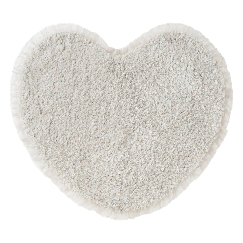 FRILL HEART MULTI MAT GRAY