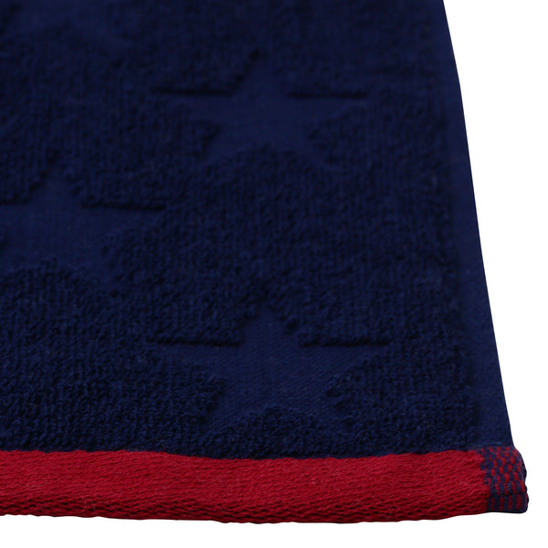 BALLOT HANDKERCHIEF TOWEL STAR LINE NAVY