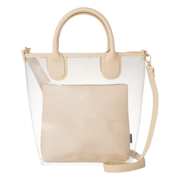 CRACHIN VINYL TOTE M BE