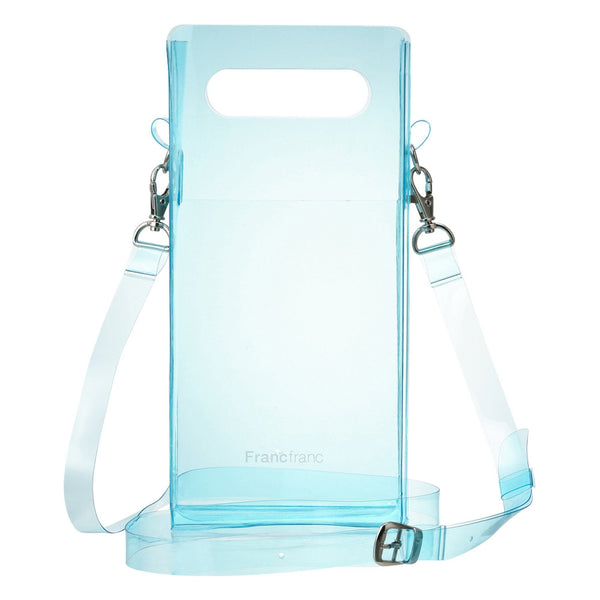 CLEAR SHOULDER BAG BL