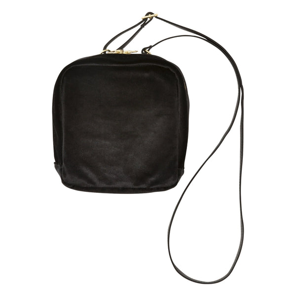 RAY SQUARE SHOULDER BAG Black