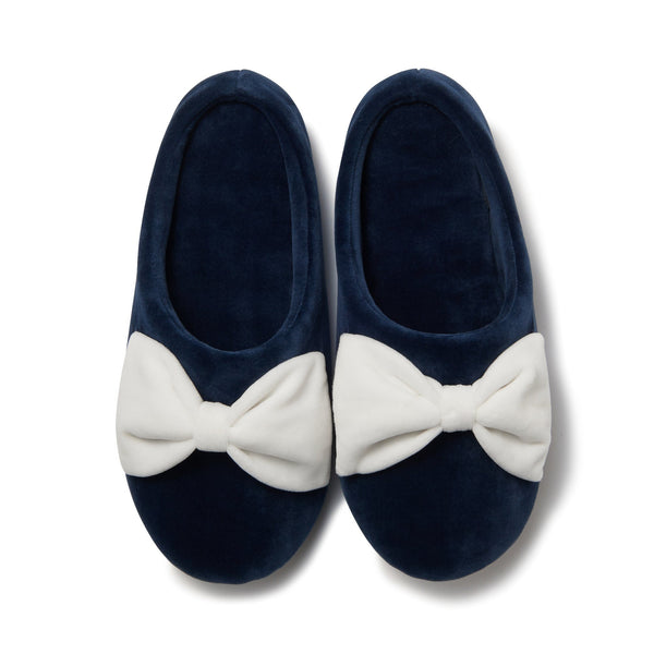 20SS MODERNE ROOM SHOES Navy X White