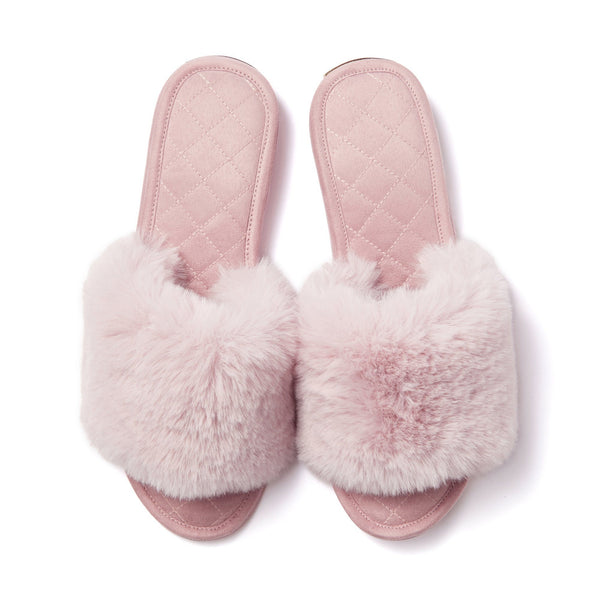 ECO FUR ROOM SHOES PK